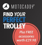 Motocaddy's free accessories offer